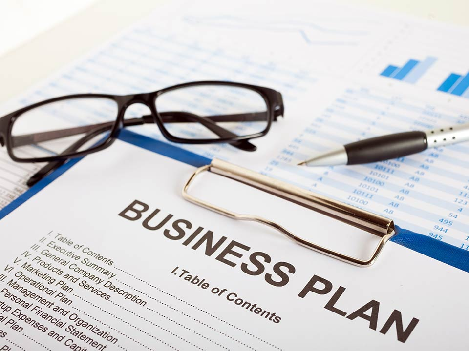 business plan for a new startup